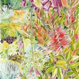 """""""Trish and Roger's Garden"""", The Garrison, St Marys, Isles of Scilly"""
