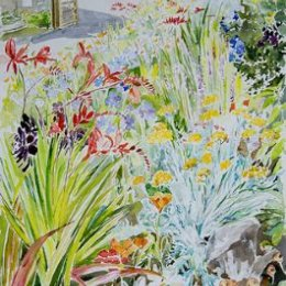 """""""Trish's Border"""", The Garrison, St Marys, Isles of Scilly"""