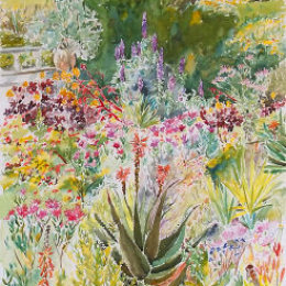 """Westerly Planting"" Tresco Abbey Gardens, Tresco, Isles of Scilly"