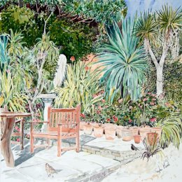 """""""Carreg Dhu Patio"""", St Marys, Isles of Scilly"""
