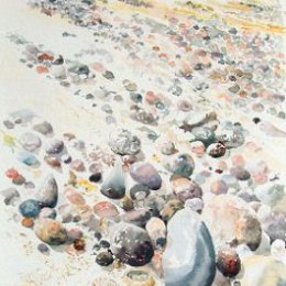 """""""Low Tide, Shells and Pebbles"""", Porthloo beach, Scilly"""