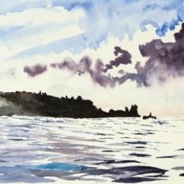 """Morning Squall over Peninnis"", St Marys, Isles of Scilly"