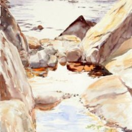 """""""Rock Pool Reflections"""", St Marys, Isles of Scilly"""