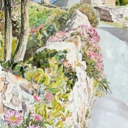 """""""White Horses Wall"""", The Garrison, St Marys, Isles of Scilly"""