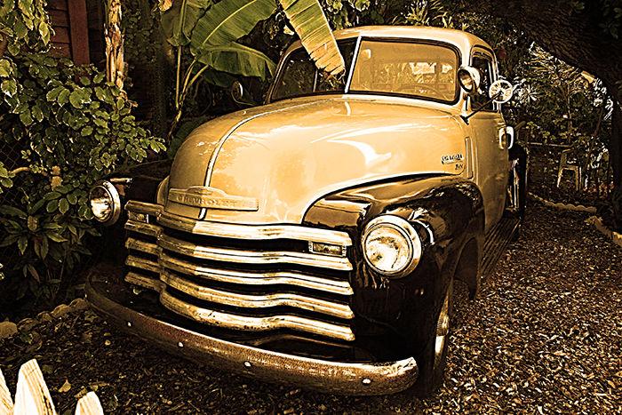 American Pick-up Truck
