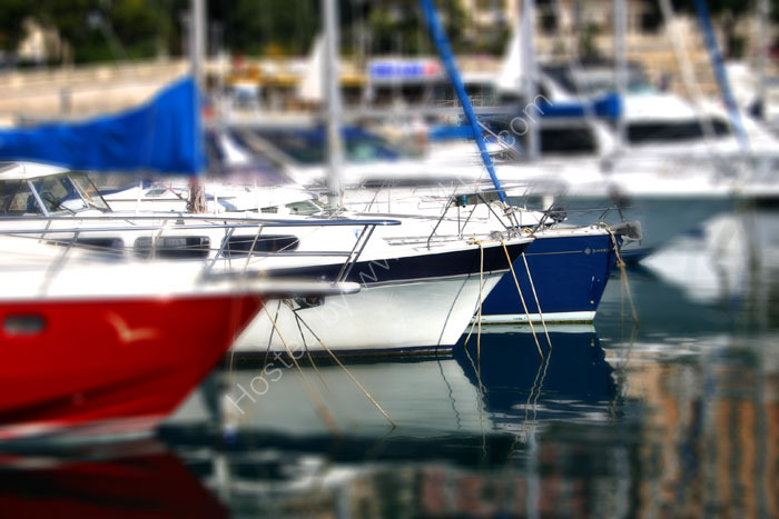 Boats - short depth of field