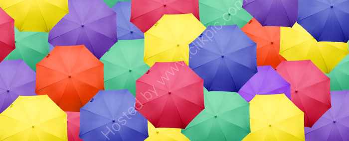 Umbrellas: Product Photography meets Art and Graphic Design