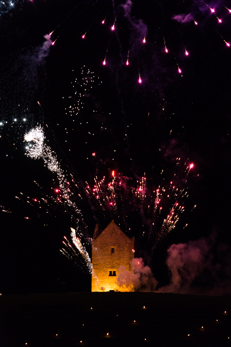 Somerset, England: Bruton – 'Spiral of Light' Festival Fireworks 4