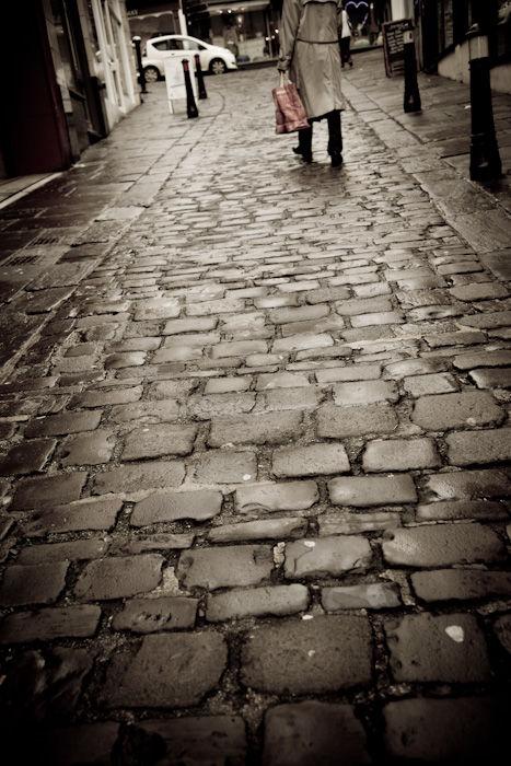 Frome, Stony Street, cobblestones