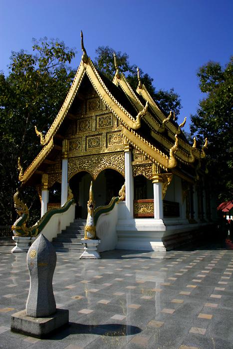 Temple (Vihara) Golden Triangle, Thailand