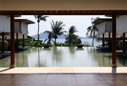 THAILAND: Hotel lobby, Phuket