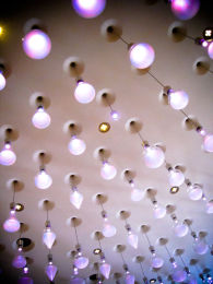 LONDON: Fantastic Ceiling Lighting Design