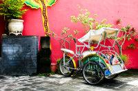 Cycle Rickshaw, Bali