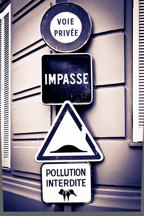MONACO, MONTE CARLO: Signs