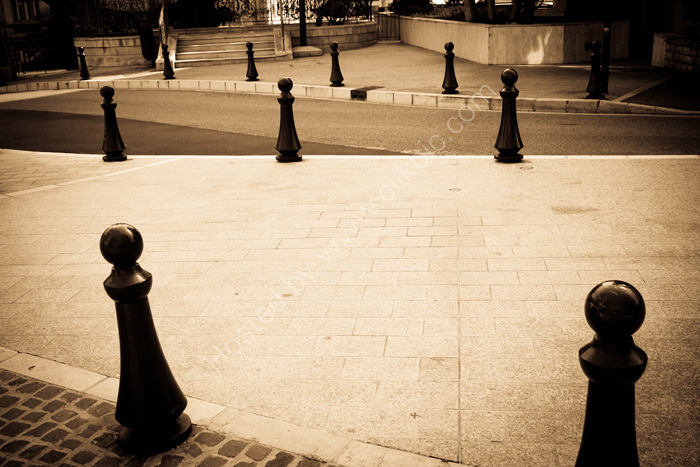 MONACO, MONTE CARLO: Bollards