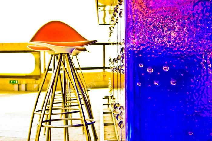 Bar and stool