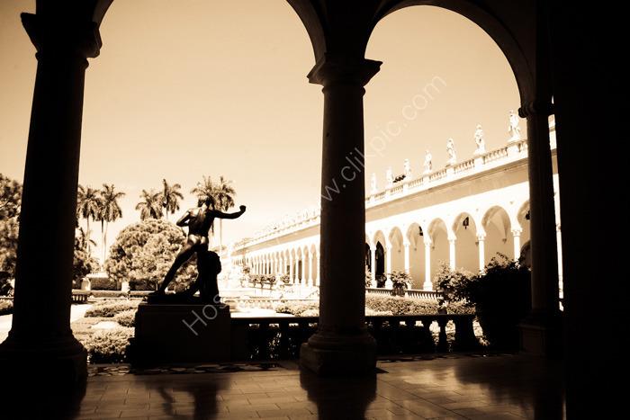 Sarasota, FLORIDA, USA: Museum based on a European classical design