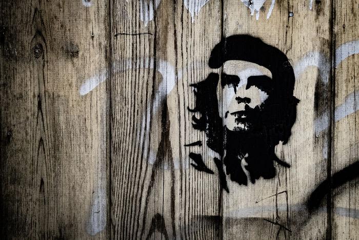 Che Stencil Graffiti