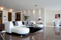 SANDBANKS, DORSET: Luxury home - lounge