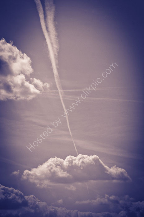 Sky and Vapour Trail