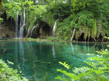 Tranquil Pool,Plitvice.
