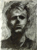 Self-portrait, Stephen Riley 1990