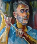 Self-Portrait as Kokoshka