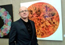 The Artist at an Exhbition: Stephen at Sine Dubio Arts