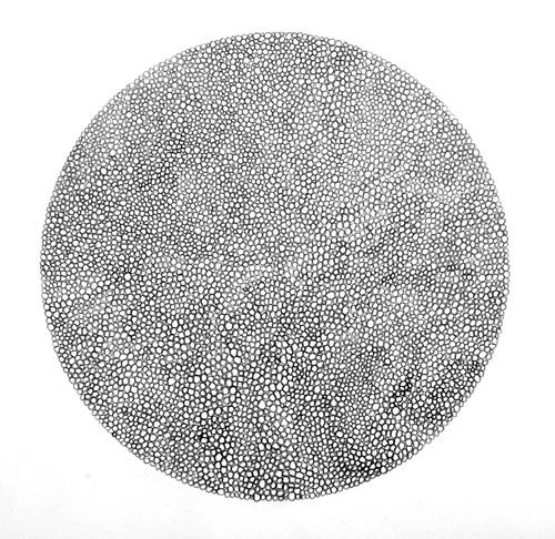 Tight Graphite Circles Circle Study