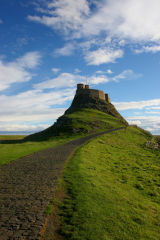 Castle at Holy Island