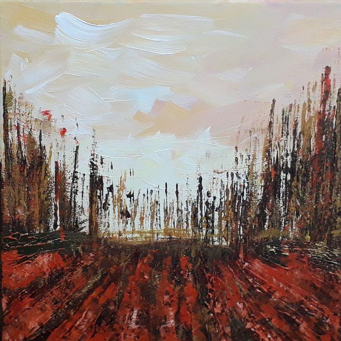 Apocalypse - Acrylic on canvas 30cm x 30cm