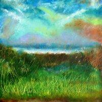 Camphill, Woolton, Liverpool. Acrylic on canvas 50cm x 50cm