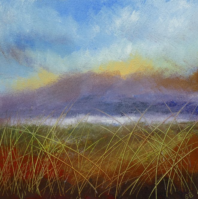 Impressionistic Camphill 2, Acrylic on canvas, 30cm x 30cm