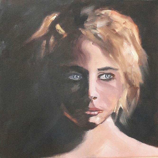 Portrait in oils - 30cm x 30cm