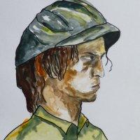 Matt in watercolour A2
