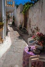 A Back Street in Agia Marina.