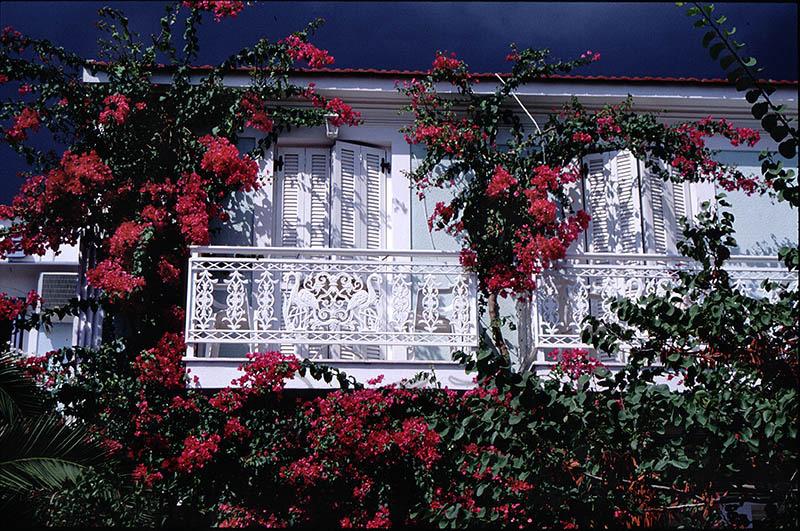 A Balcony in Samos