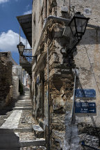 A Street in Ano Syros (d)