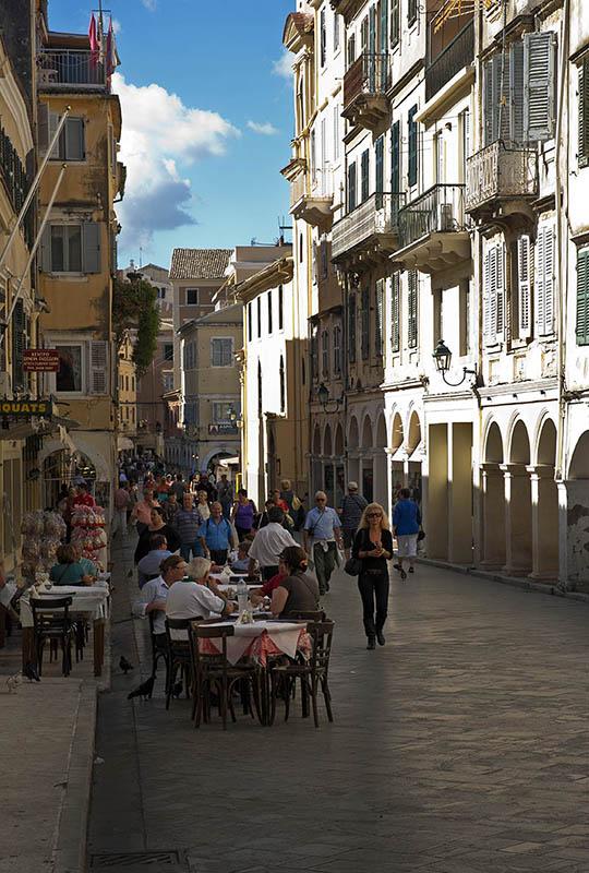 Corfu Town. (a)