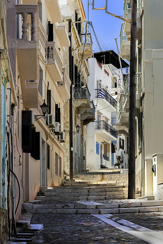 A Street in Ermoupoli (c)