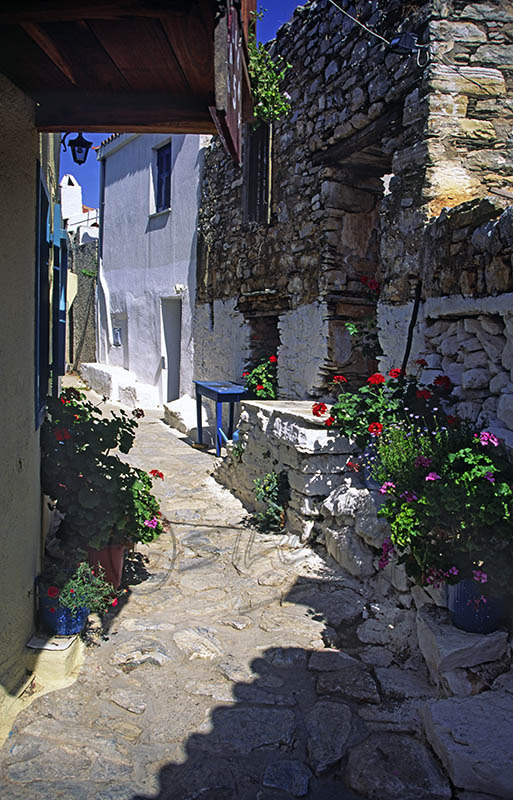 A street in Old Allonissos (c)