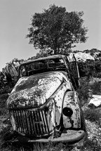 Abandoned Wagon in Thassos.