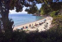 Ambelakia Beach. (a).