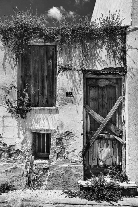 An Empty House in Skopelos Town