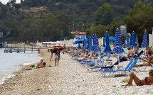 Barbati  Beach.