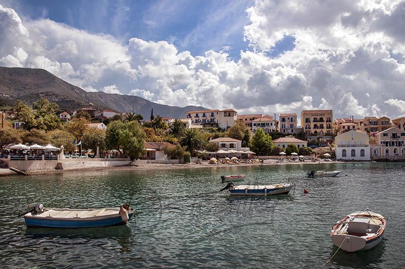 Bay and Beach at Assos.