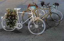 Bicycle Street Decoration in Sivota Village