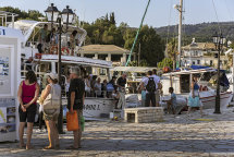 Boat trip arrival at Sivota Harbour (b)