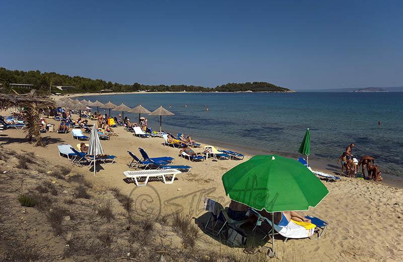 Chrousou Beach Nr. Paliouri. (c).