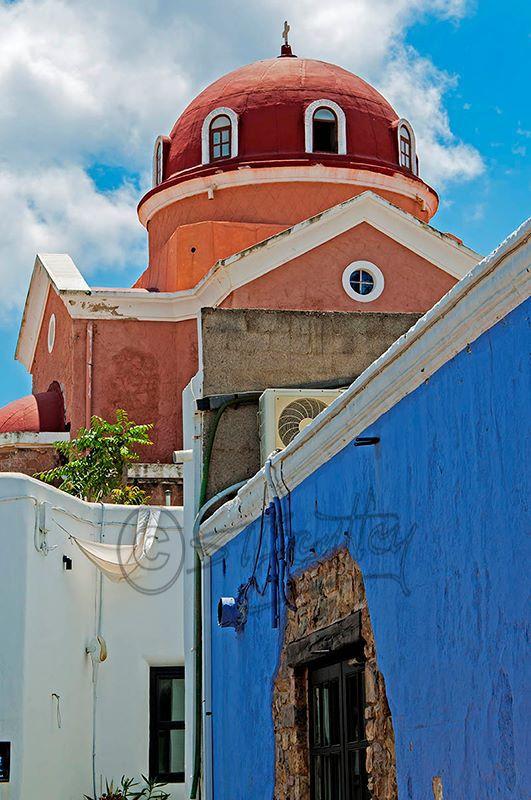 Church in Agia Marina.